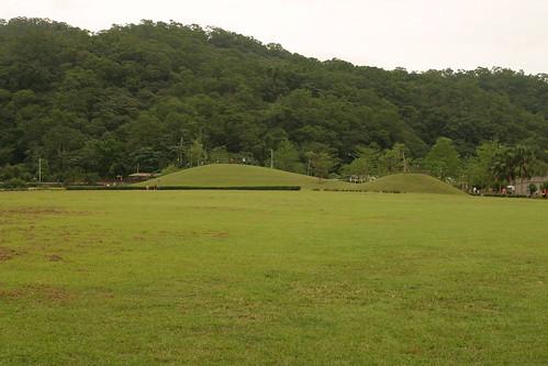 你拍攝的 龍潭湖:大草原。
