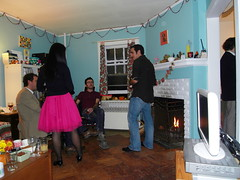 steve, devyn, pinto, nina. (stephiblu) Tags: november autumn party guests fun nj montclair 2008 autumnball autumnball2008 tichenortichenors
