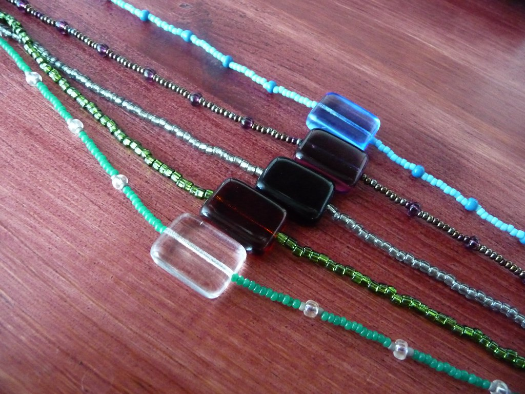 Necklaces In progress