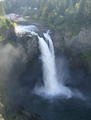 Full length of Snoqualmie Falls (arnalljim) Tags: wa snoqualmiefalls