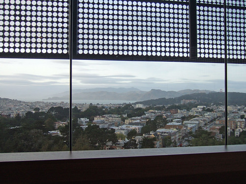 View from the de Young
