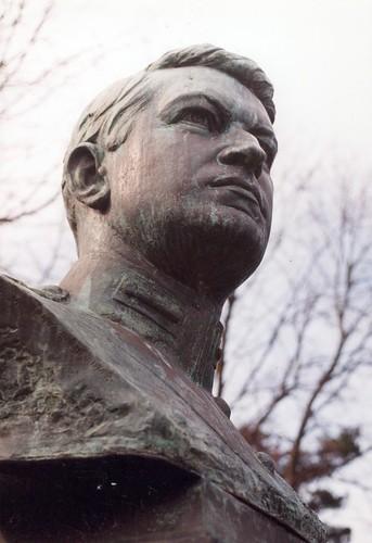 Michael Collins bust