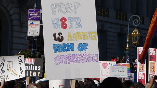 Prop h8te is another form of Oppression