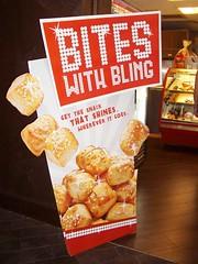 blingy pretzel bites @ taj mahal