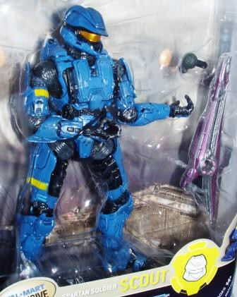Halo 3 Spartan Soldier Scout Blue a by you.