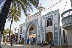 Dargah Gate, Shah Jalal (R) Majar Sharif (- Ariful H Bhuiyan -) Tags: travel shrine district visit sylhet reserved masjid gila shah jalalabad mazar jela dargah zila majar sohor shahjalalmajarsharif
