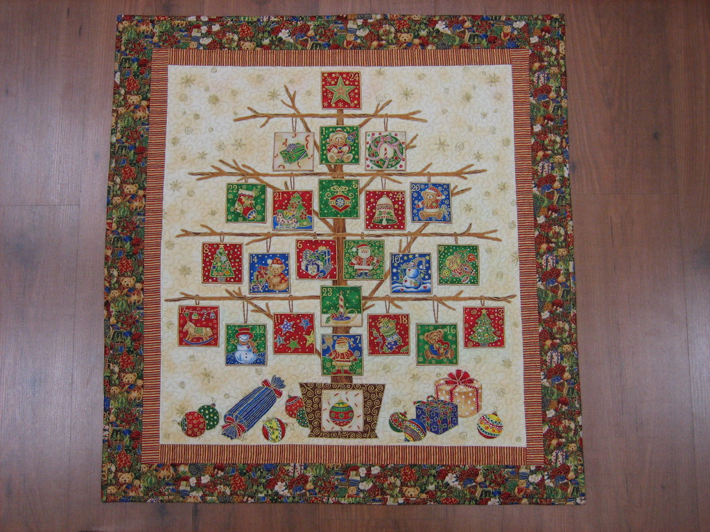Mi hobby patchwork: Calendario de Adviento