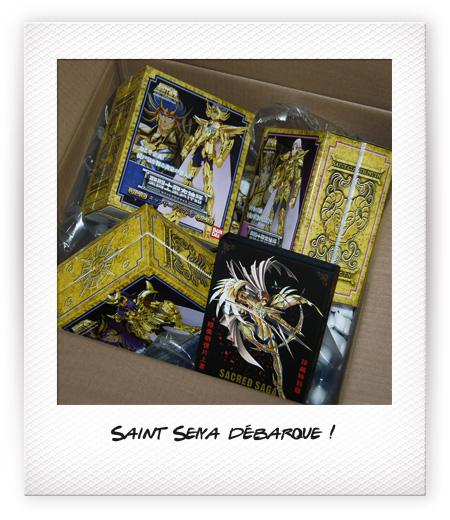 Saint Seiya débarque sur le blog !