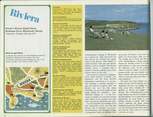 Pontins Brochure 1972
