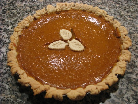 Farmer Bob's Pumpkin Pie
