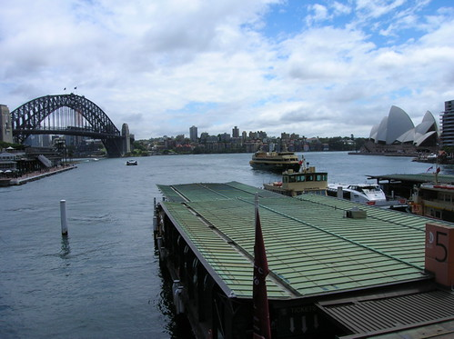 View from Circular Quay railway platform