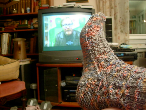 Sock Knitting + Mythbusters = <3