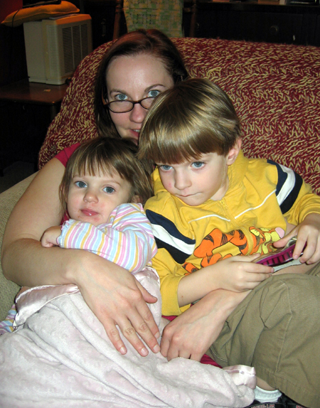 Sister with Kids (Click to enlarge)