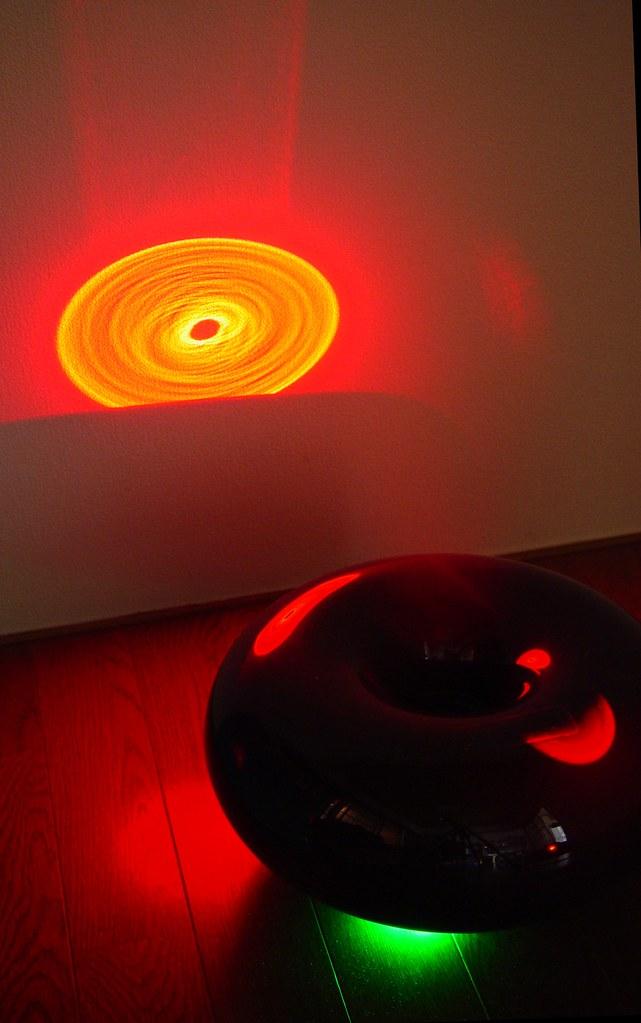 Laser attack test :±0 (plusminuszero) Humidifier monitor trial.