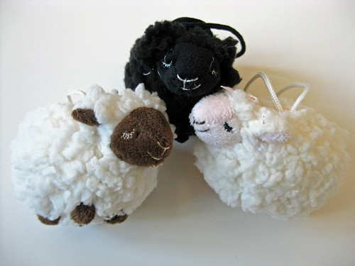 Sheepie Ornaments
