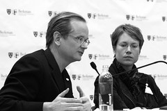 2008_12_13_commons_panel_57 (dsearls) Tags: copyright harvard cc creativecommons law berkman lawrencelessig lessig harvardlaw berkmancenter poundhall ropesgray creativcommons 20081213 larrylessi mollysvanhouwelingg