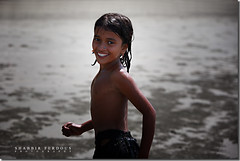 St.Martin Beach Angel (Shabbir Ferdous) Tags: ocean portrait girl smile clouds photographer stmartin bangladesh bangladeshi canoneos5d ef70200mmf28lisusm shabbirferdous shabbirspeople wwwshabbirferdouscom shabbirferdouscom