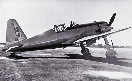 Warbird picture - Vultee P-66 Vanguard