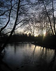 Susen (Nektos) Tags: winter panorama water reflections denmark lensflare nstved susen canondigitalixus70 vetorama