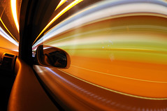 25 seconds in the digital world (Toni_V) Tags: longexposure motion car vw volkswagen switzerland movement driving tunnel fisheye handheld notripod passengerseat whiledriving touran 105mm 105mmf28gfisheye axenstrasse photographyrocks toniv theperfectphotographer toniv 27122008