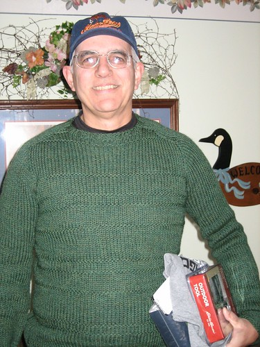 081225. dad's sweater!