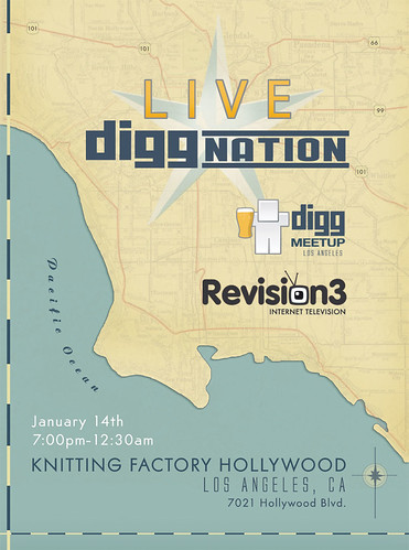 Digg Meetup - January 14th - Live Diggnation - LA
