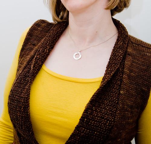 Tess Vest:  Collar/Neckline Detail