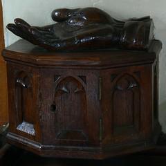 Alms box, St. Martin - Welton