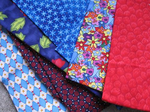 fabrics before