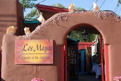 Los Mayas Exterior 2 (The Real Santa Fe) Tags: losmayas santaferestaurant