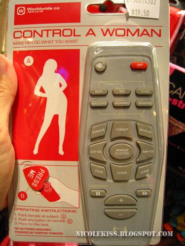 woman controller