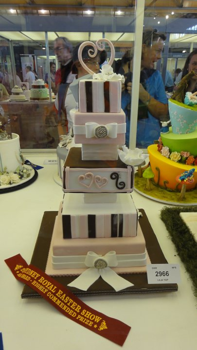 SYDNEY ROYAL EASTER SHOW CAKE 2010