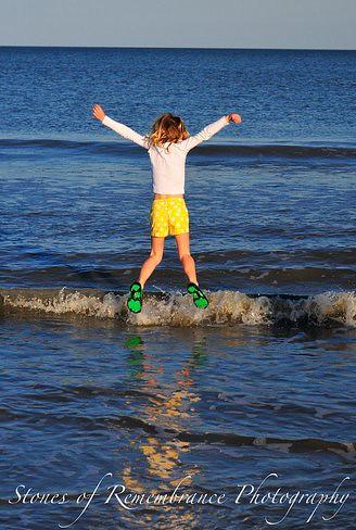 hannah jumping in waves-1