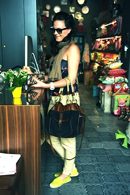 nakupovalka v Sisi