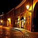 Street of Malá Strana By night