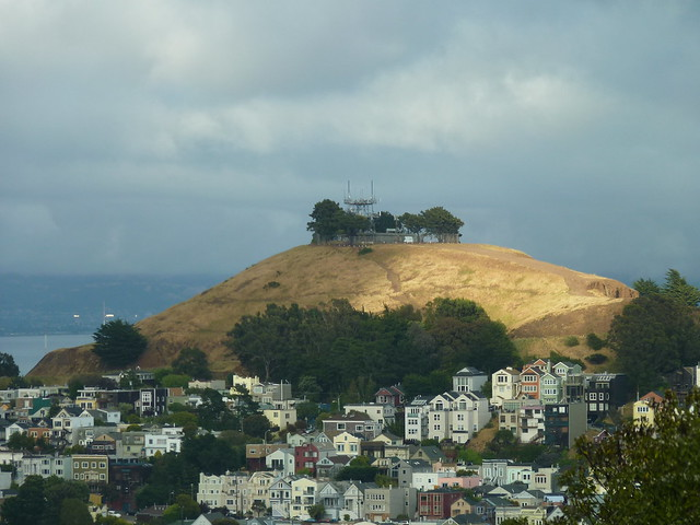 Sun hole on Bernal