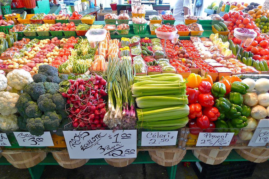 Copyright Photo: Atwater Market Fruits Vegetables by Montreal Photo Daily, on Flickr