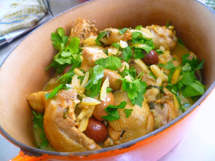 VictorsFood - Cooking Classes & Cooking Team Building - Moroccan Cookery - Chicken Tajine