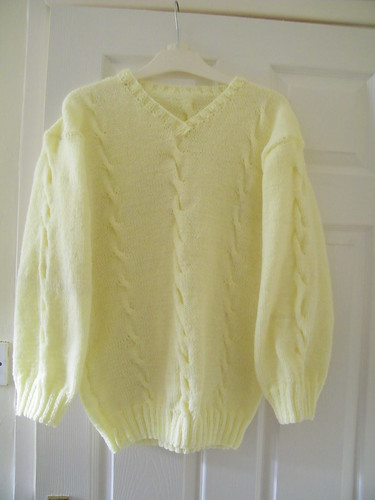 Hand Knitted Ladies Jumper  by abracacamera