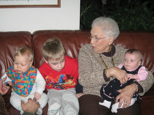 Mimi & Great grandkids - take 3