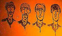 Beatles in Hyde Hall (The Big Jiggety) Tags: fab usa college john paul george harrison dorm maine brunswick beatles lennon ringo mccartney bowdoin starr
