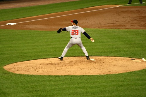 Smoltz on the mound