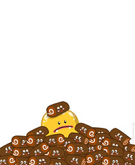 Schwarzlogger's pet peeves (Onno Knuvers) Tags: pet brown cute yellow illustration log chocolate character squeeze toothpaste if illustrator logger friday vector industries peeves schwarzlogger