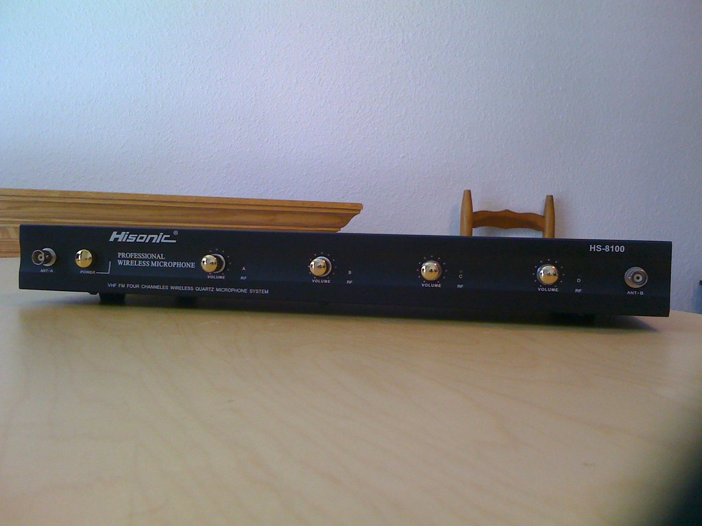 Hisonic HS8100 Receiver (Front)