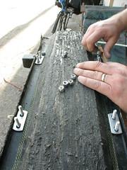The Rollsrolls deck becomes a trailer in Redondo Beach, California, USA