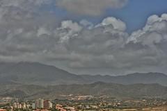 Storm front (jmven) Tags: sky storm clouds canon gris cloudy venezuela gray nubes tormenta margarita nublado 400d