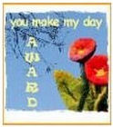You make  my day award logo