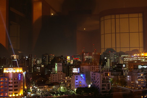 Night view of Fukuoka from Grand Hyatt