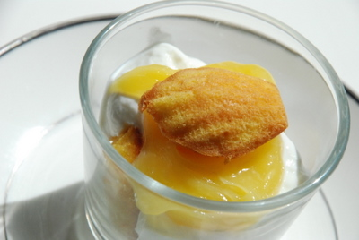 kumquat madeleine trifle
