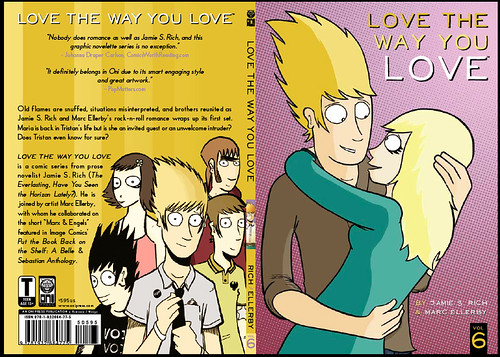Love the Way You Love #6 cover spread